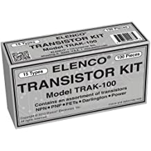 Elenco Transistor Kit - 100-Piece - TRAK-100