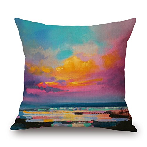 [Artistdecor 16 X 16 Inches / 40 By 40 Cm Scenery Cushion Covers,double Sides Is Fit For Outdoor,sofa,car,living Room,kids] (Romantic Time Period Costumes)