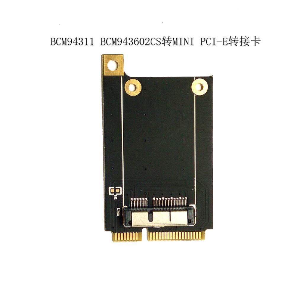 Tarjeta de WiFi inal/ámbrico CY WIFI Mini PCI-E Card para Macbook Broadcom BCM94360CD//BCM94331CD BCM94331CD BCM943224P