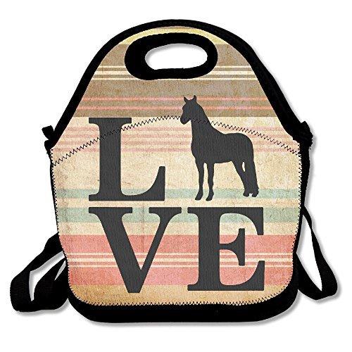 Farm Animal, Love Horses Lunch Bag Lunch (Farm Animals Lunch)