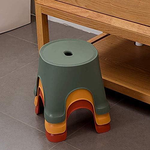 Marchepied en plastique anti Skid Table basse simple for adultes Épaississement Chaussures courtes Tabourets (Color : -, Size : -)