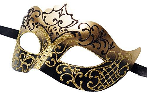 amazon com luxury mask assorted venetian party multicolored mask