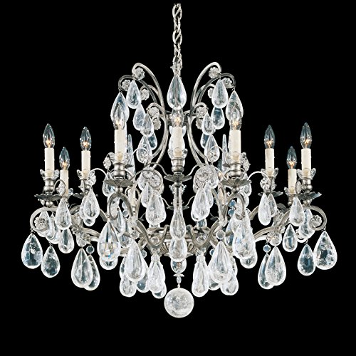 Schonbek 2490-26 Swarovski Lighting Versailles Rock Crystal Chandelier, French ()