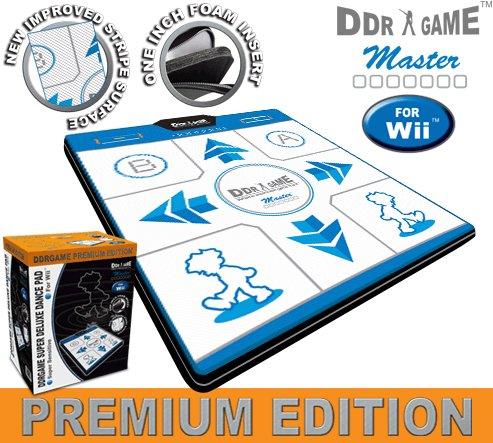 Wii Dance Pad Premium Edition Deluxe Non-Slip -