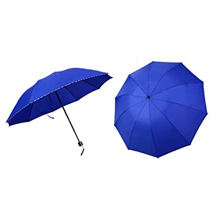 Paraguas Paraguas con 10 Costillas de Fibra de Vidrio a ...
