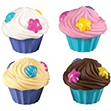 Best Cupcakes - Munchkin 4 Cupcake Squirts, Pink/Yellow/White/Brown Review