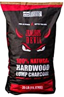 Jealous Devil Quebrancho Blanco Hardwood Lump Charcoal, 100% Natural, Restaurant Quality by Jealous Devil
