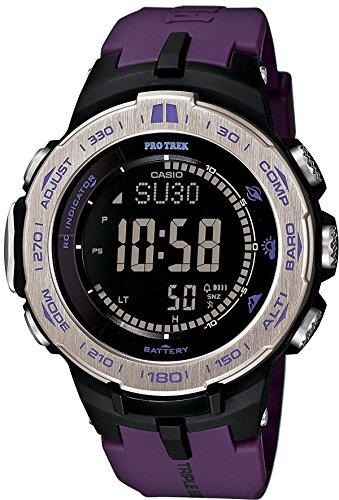 [해외][카시오] CASIO 손목시계 PROTREK Slim Line Series 트리플 센서 Ver.3 가진 세계 6 국 전파 대응 태양 모형 PRW-3 ... / Casio CASIO Watch Protrek Slim Line Series triple sensor with Ver. 3 World 6 Radio-controlled solar model PRW-3...