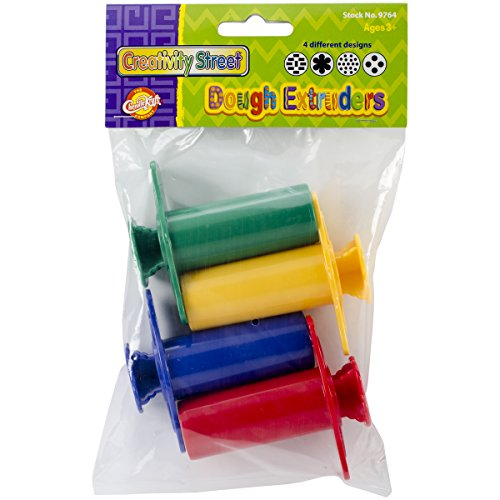 Creativity Street Dough Extruders (4 Pack) Dough Extruders