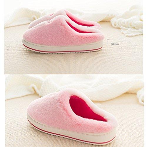 Caldo Da Dww Scarpe B Invernali Pantofole Antiscivolo Cotone In Donna Spesse Casa qY4nwU