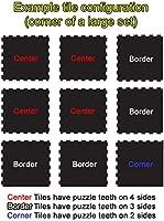 - Exercise Mats Home Gym Sets 10/% Tan 6 x 10 Set Interlocking Rubber Tiles American Floor Mats Fit-Lock 3//8 Inch Heavy Duty Rubber Flooring 15 Tiles Total 24 x 24 Tile