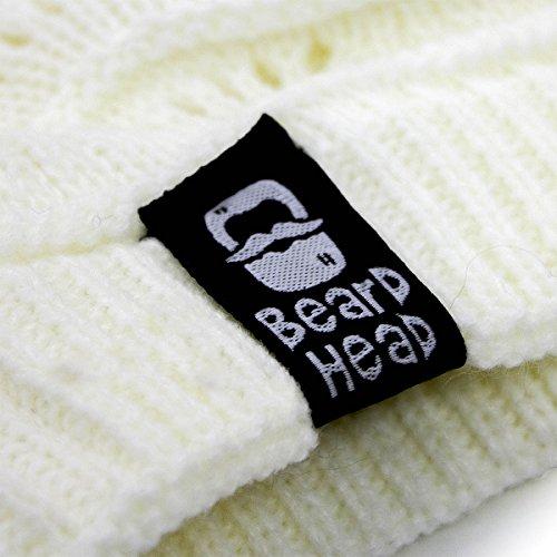 invierno de con barba nbsp;– negra Curly nbsp;Gorro Pearl pqOvPOfI