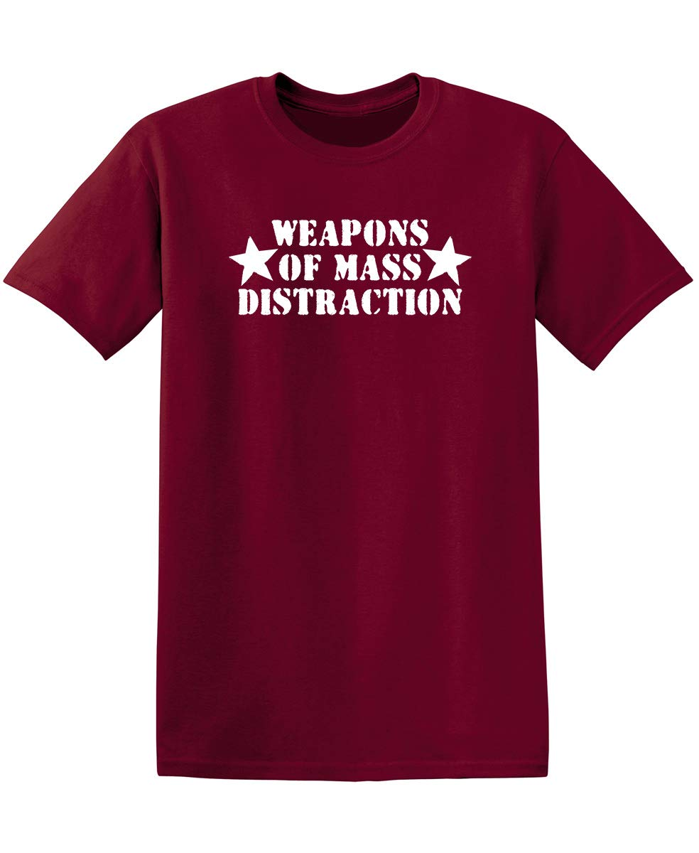 Weapons Of Mass Distraction Graphic Novelty Sarcastic Funny 3409 Shirts