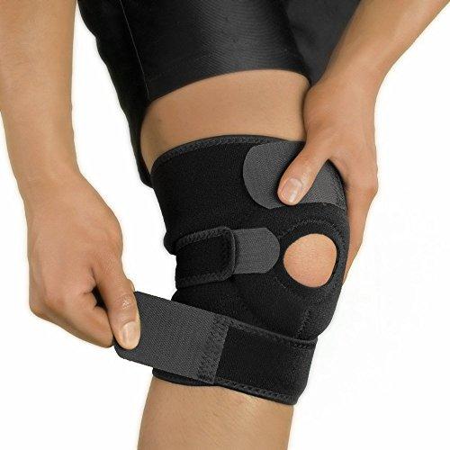 Perfotek Knee Brace Support Protector Pad Guard Elasticated Sleeve (SINGLE (Racing Knee Brace)