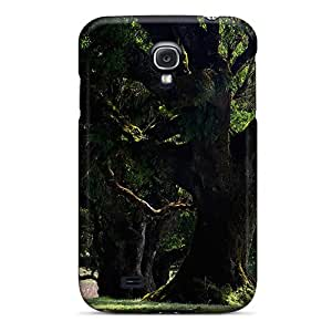 MagicSpace Scratch-free Phone Case For Galaxy S4- Retail Packaging - Old Forest