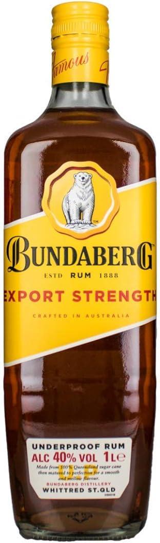 Bundaberg Export Strength Ron - 1000 ml