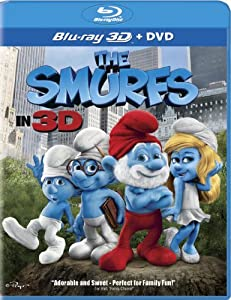 Cover Image for 'Smurfs (Two-Disc Combo: Blu-ray 3D / Blu-ray / DVD), The'
