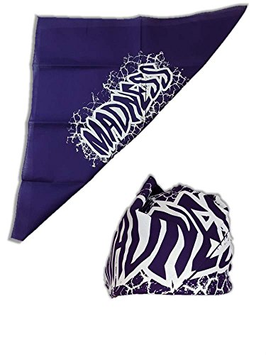 Madness Colored Bandana for Macho Man Costume-Shattered Purple (Randy Savage Costume)