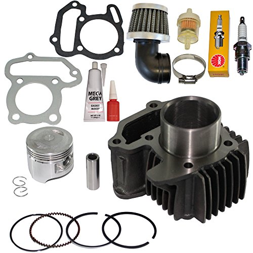 - YAMAHA YFM 80 RAPTOR 80 PISTON CYLINDER GASKETS RINGS PIN CLIPS KIT 2002 - 2008