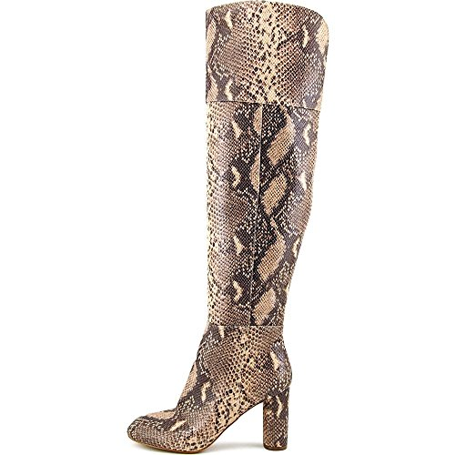 INC International Concepts Tylieep Schlangenleder Leder Wasserstiefel Snake Tan