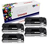 4 Pack HTMALL? New Compatible CE505A 05A Toner Cartridge-Black ( 05A) work for LaserJet P2035/P2035n/P2050/P2055/P2055d/P2055dn/P2055x