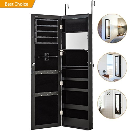 HERRON Shoe Rack Large Capacity Shoe Organizer,10 Tiers 50 Pairs Shoe Tower Durable and Stable-Black (Black)