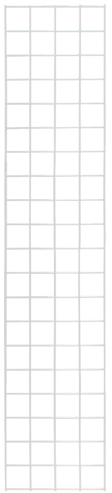 KC Store Fixtures A04215 Gridwall Panel, 1' W x 5' H, White (Pack of 4)