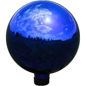 Amazon Com Sunnydaze Garden Gazing Globe Ball Outdoor