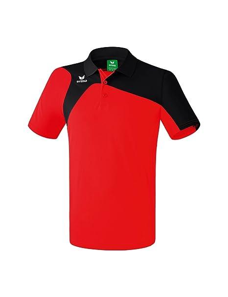 Erima GmbH Club 1900 2.0 Polo de Tenis, Unisex niños, Rojo/Negro ...