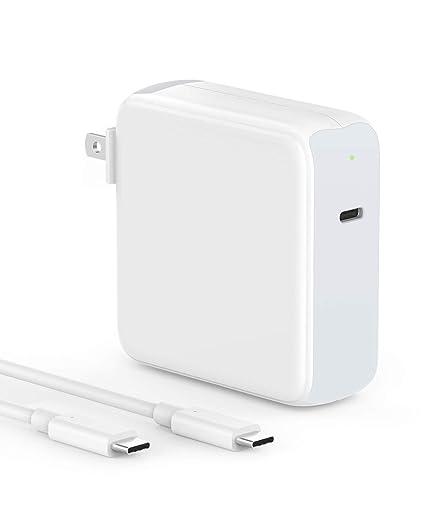 Amazon.com: Cargador USB C de 87 W para MacBook Pro de 15 ...