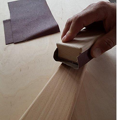 Schleifklotz 115x64x36 Holz Mobelhandel