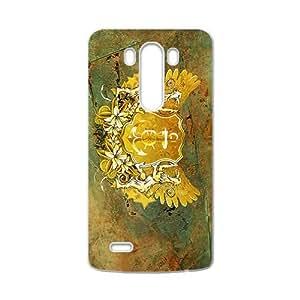 HWGL Creative Stone Badge Custom Protective Hard Phone Cae For LG G3