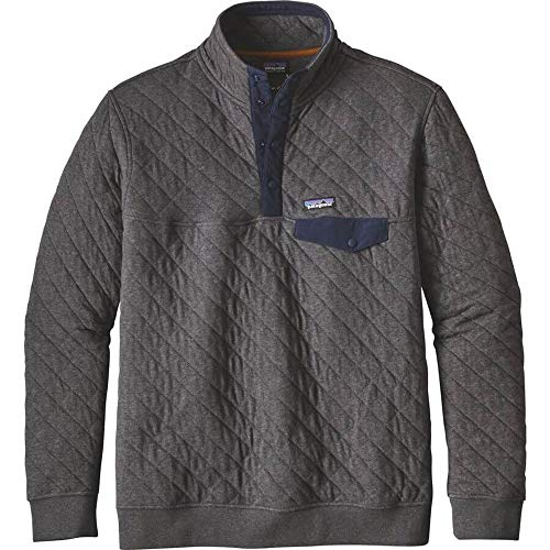 Patagonia Men's Cotton Quilt Snap-T Pullover - Forge Grey - XX-Large (Patagonia Mens Cotton Quilt Snap T Pullover)