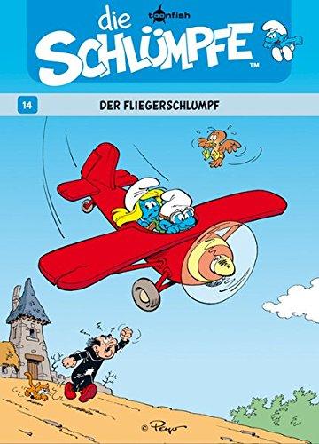 Die Schlümpfe. Band 14: Der Fliegerschlumpf Gebundenes Buch – 1. August 2012 Peyo Splitter-Verlag 3868699686 Comic