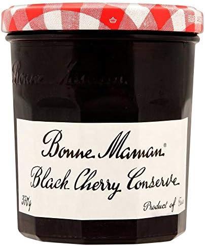 Bonne Maman Black Cherry Conserve (370g) 良いママブラックチェリージャム( 370グラム)