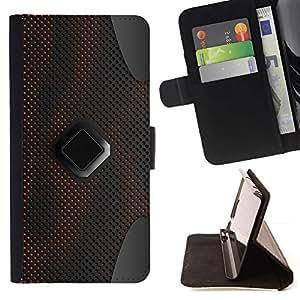 Momo Phone Case / Flip Funda de Cuero Case Cover - Dise?o Altavoz Techology Art Wallpaper material - Samsung Galaxy Core Prime