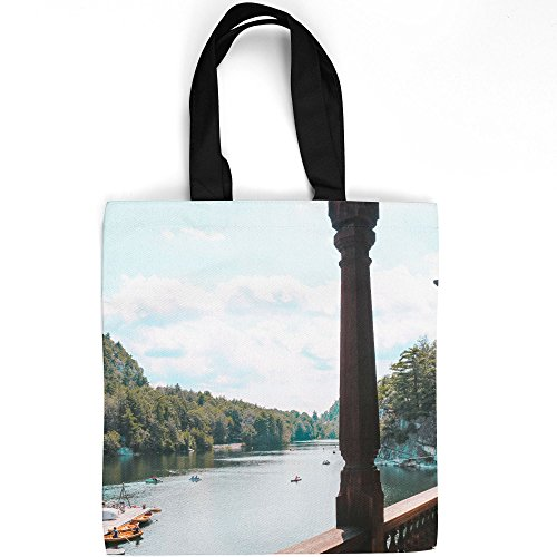 - Westlake Art - Camp Water - Tote Bag - Fashionable Picture Photography Shopping Travel Gym Work School - 16x16 Inch (9FC00)