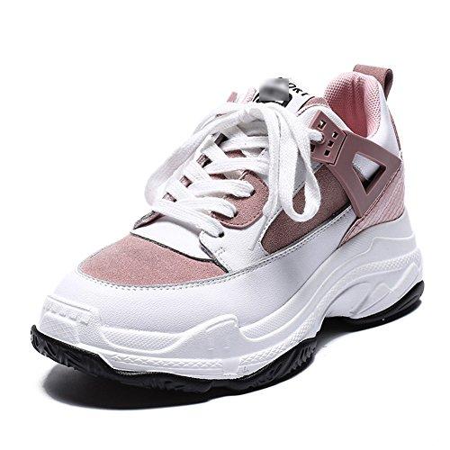 Tamaños Pink Mujeres 5 l Primavera uk5 Al Zapatos Disponibles Zapatillas Las Pink Tamaño Grueso color Deportes Fondo 240mm De 5 Eu38 Liangjun 2 Colores Libre Aire 7wqOEO4