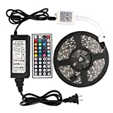 WenTop Led Strip Lights Kit Waterproof SMD 5050 16.4 Ft (5M) 300leds RGB ...