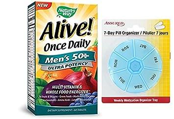 50 tabletas de potencia Ultra camino vivo una vez al día de los hombres de la