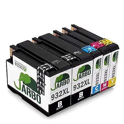 JARBO Reemplazar por HP 932XL 933XL Cartuchos de tinta (2 Negro, 1 ...