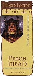 NV Hidden Legend Peach Mead 750 mL