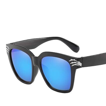 Amazon.com: Luziang - Gafas de sol de gran marco redondas ...
