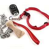 Universal Garage Door Opener Mini Keychain Remote MC100-6, Works with Chamberlain, LiftMaster, Craftsman, Genie and More, Security +2.0 Compatible