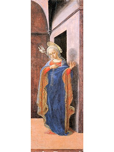 Annunciation, right wing by Filippo Lippi (Non Framed) by Generic