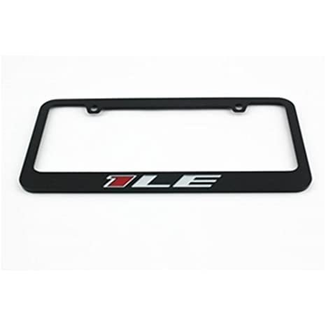 Amazon.com: 1LE Camaro License Frame - Black: Automotive
