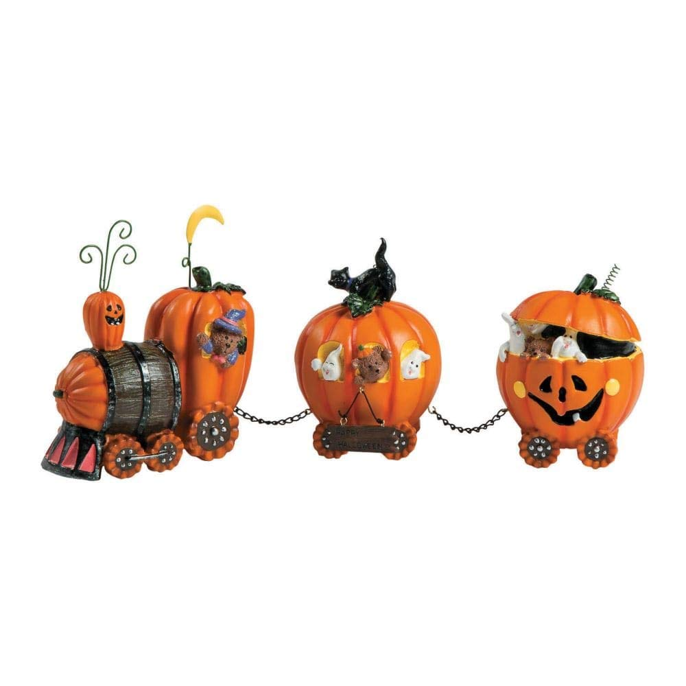 1 X The Pumpkin Express Train - Decorative Accessories Fun Express FBA_93/420