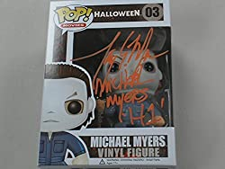 """TONY MORAN Michael Myers in Halloween 1"""" The First and Original Michael Myers!! Hand Signed Funko Pop of """"Michael Myers""""Autographed by Tony at our private signing in August 2016 He added the inscription """" Michael Myers H1 """" Comes with HorrorAutograph..."""