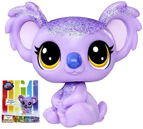 Brisbane Aubergleam the Koala Bear #40 Littlest Pet Shop Rainbow Pet Figure - Brisbane Stores