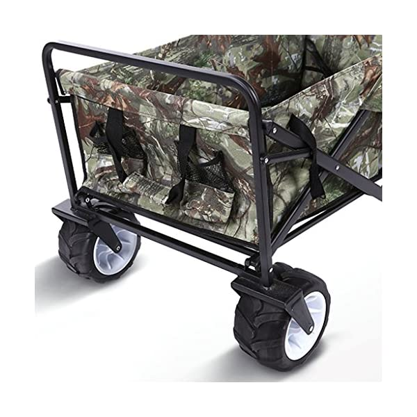 YD Pet Travel Carrier Pet Trolley Multifunctional Folding Four-wheeled Pet Stroller Large Dog Cart Pet Scooter Camping… Click on image for further info. 5
